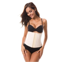9 Steel Boned Nice Latex Corset Sexy Women Body Shaper Tummy Control Shaped Underwear Slim Waist Shapewear