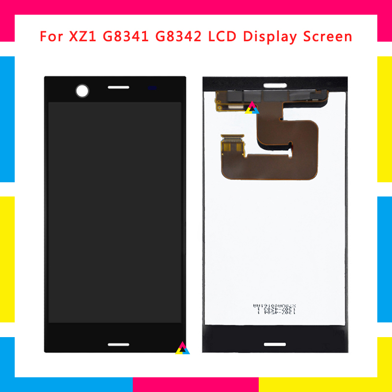 5pcs LCD Display Screen With Touch Screen Digitizer Assembly For Sony Xperia XZ1 G8341 G8342 Replacement