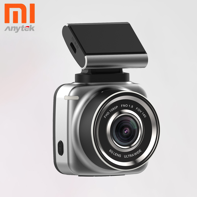 Xiaomi Driving Recorder Cam-Camera Dash Cam Anytek Display G-Sensor 1080FHD Mijia Q2N
