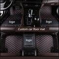 Kalaisike пользовательские автомобильные коврики для Audi все модели A1 A3 A8 A7 Q3 Q5 Q7 A4 A5 A6 S3 S5 S6 S7 S8 R8 TT SQ5 SR4-7 Тюнинг автомобилей