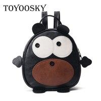 TOYOOSKY Brand Cute Animals Kids Bear Priting Backpack Cartoon Mini Bags Children School Bags For Girls