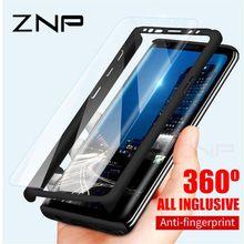 ZNP 360 полный защитный чехол для телефона для samsung Galaxy S10 S9 S8 Plus S7 Edge чехол для Galaxy Note 9 8 S10E S9 со стеклом