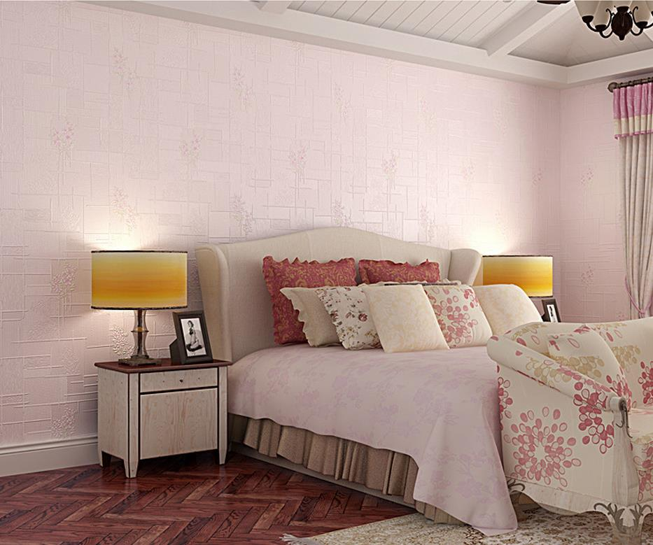 ФОТО Simple pastoral style vertical striped wallpaper bedroom living room with small fresh flowers wallpaper factory outlets