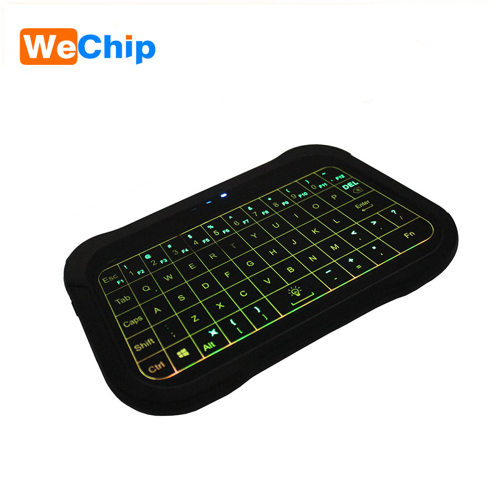 T18 English Version <font><b>2.4GHz</b></font> <font><b>Wireless</b></font> <font><b>Keyboard</b></font> Air Mouse Touchpad Handheld Backlight Controller for TV BOX Mini PC PK <font><b>I8</b></font> H18 H20 image