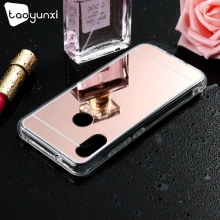 TAOYUNXI Mirror Case For Xiaomi Redmi Note 6 Pro Mi 8 Lite 8X Cases Youth Covers