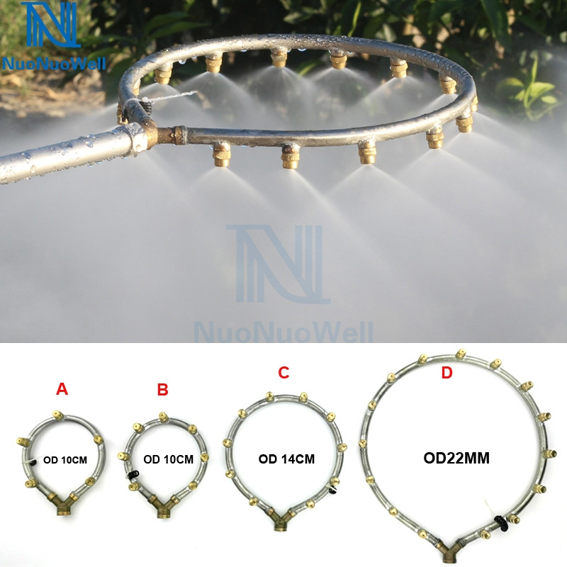 NuoNuoWell M14 *1.5MM Ring Atomizing Nozzle Garden Humidification Irrigation Pesticide Spraying Adjustable Sprinkler Tools