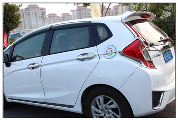 fit for HONDA 2014 FIT  ABS high quality Spoiler spoiler  Wing rear wing different colors