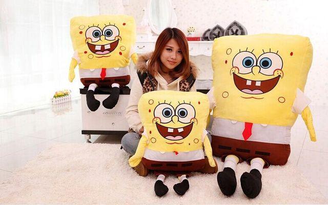 80cm giant spongebob plush, giant stuffed spongebob, spongebob, sponge bob plush toy best gift for girlfriend