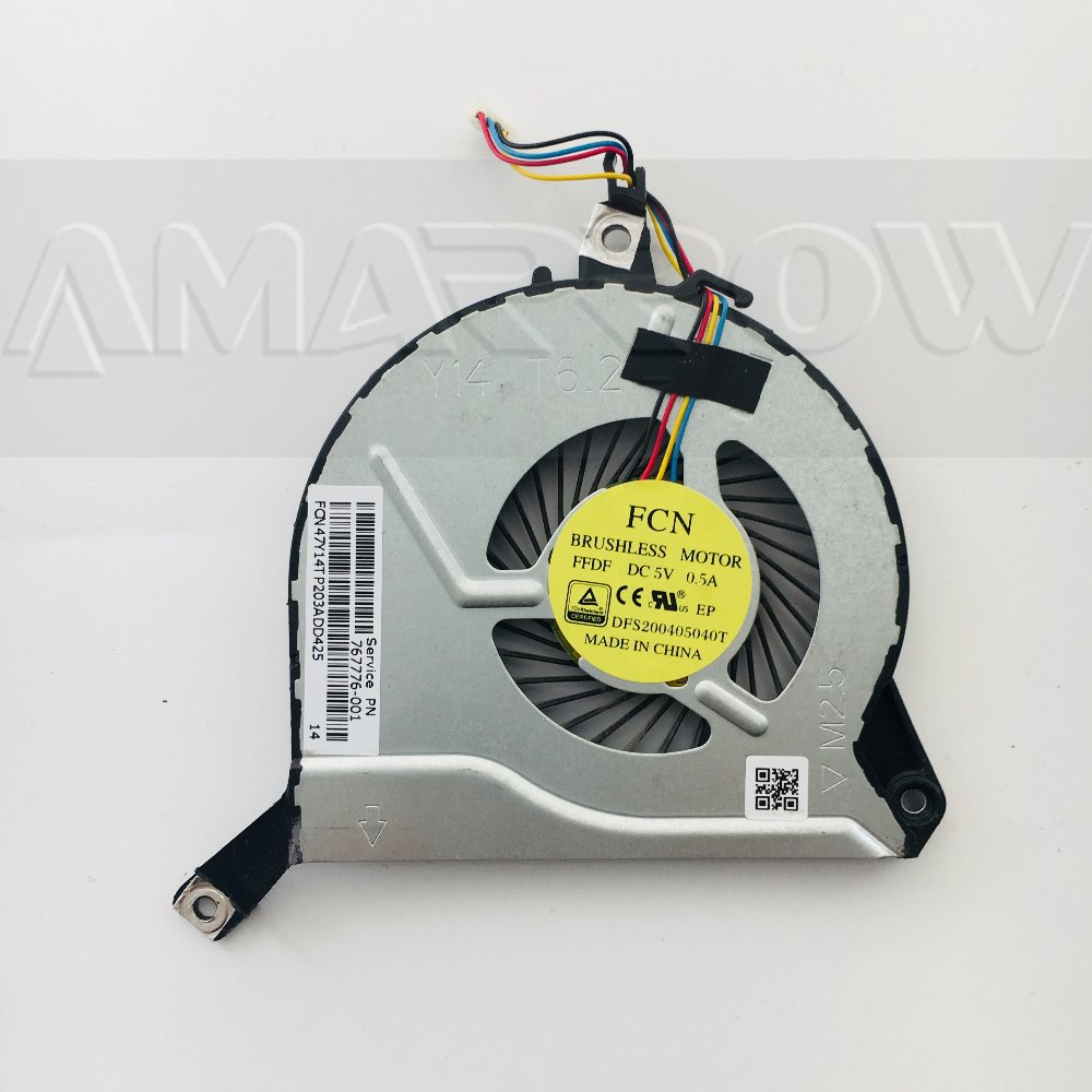 New Original Free Shipping For HP PAVILION 14-P 15-P 16-P 17-P 14-V 15-V 16-V 17-V 17-F CPU Cooler Fan