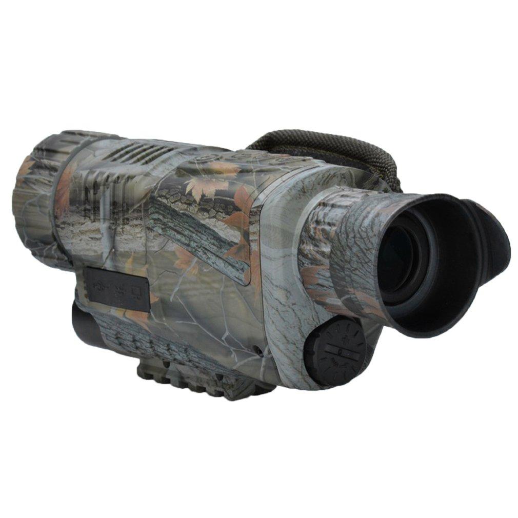 5x42 Monocular Night Vision infrared Digital Scope for Hunting Telescope long range built-in Camera Shoot Photo Recording Video цена