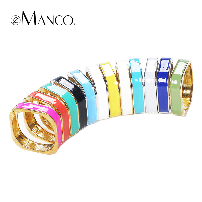 Multicolor zinc alloy womens bracelets cuffs eManco 2016 brand New promotions High Quality Fashion pulseiras femininas BL05706 женские блузки и рубашки brand new ropa camisas femininas kimono cardigan