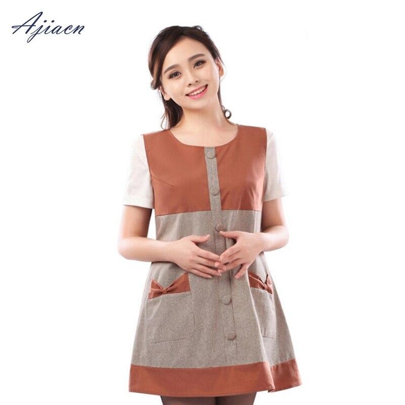 Recommander les femmes enceintes de protection contre les rayonnements électromagnétiques en fibre d'argent habillent les vêtements de protection EMF de tempérament de dame