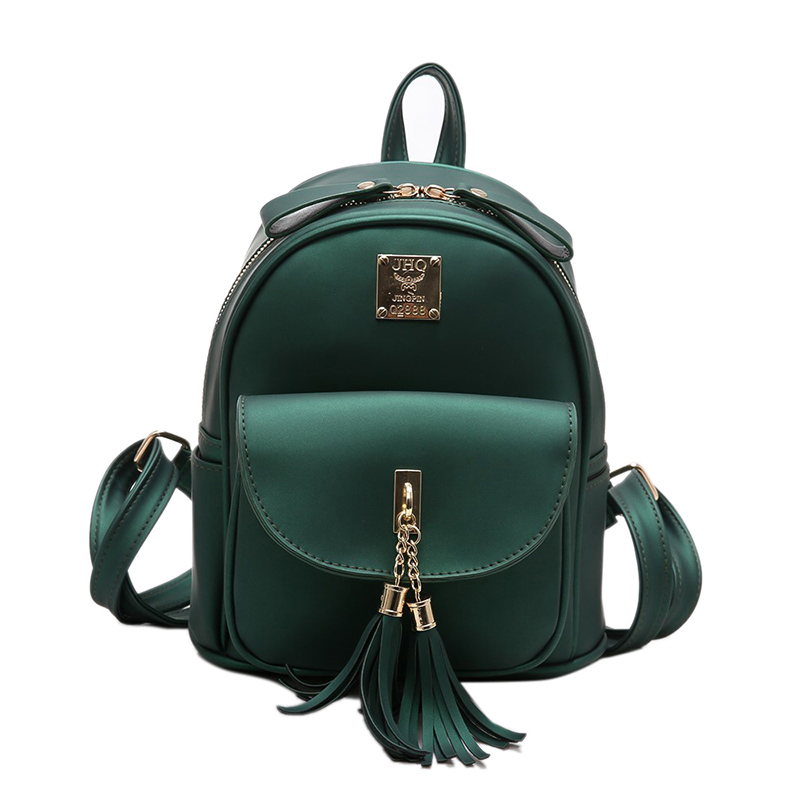 2017 Women Pu Leather Backpack Solid Color New Lady Backpacks Fashion Scrub Small Teenage Girl School Bag Travelling Bags Y286 new fashion faux leather backpack woman backpacks for women for the traveling lady tote bags pu leather champagne girl daily bag