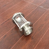 2 51MM OD Flow Sanitary Sight Glass Tri Clamp Type Stainless Steel SS304 New