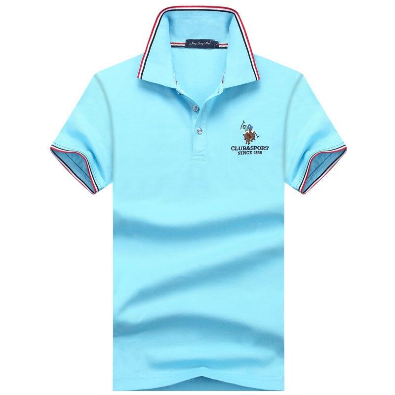 Brands Jerseys Mens Shirts Polo Shirts Plus Size M-3XL Brand New Men's Polo Shirt Men Cotton Short Sleeve Shirt Spring, Summer T
