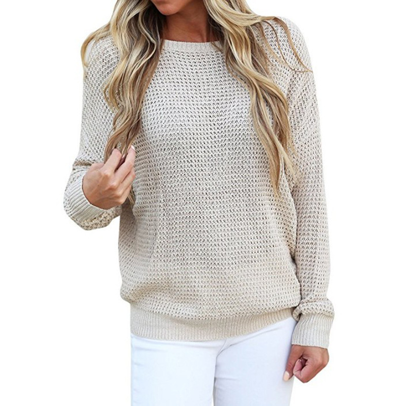 Blusas De Inverno Feminina Tijd Beperkte Poncho 2019 Nieuwe Nationale Stijl Vrouwen Open Back Trui Losse Grote Size V-hals Lace-up