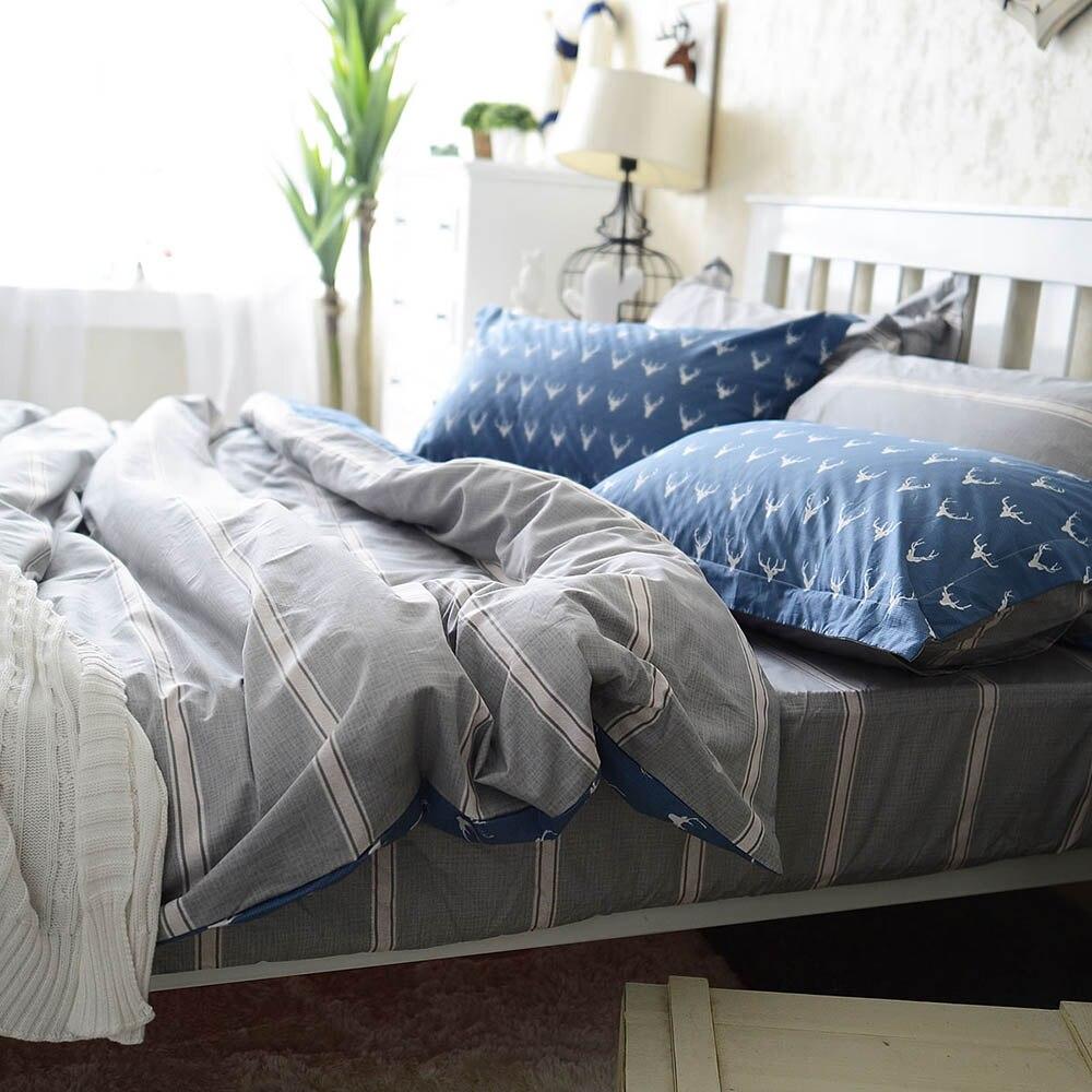 popular mens duvet coversbuy cheap mens duvet covers  - m beddingoutlet bedding set queen king european elk men's duvet cover setwith pillowcases pcs cotton bed set home