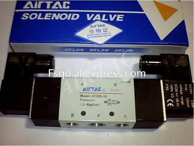 все цены на 4V320-10 220V  AIRTAC solenoid valve pneumatic tools Quality pneumatic components онлайн
