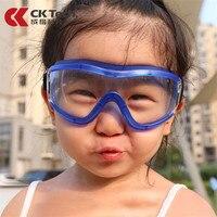 CK Tech.Children Anti-wind Anti-sand Safety Goggles Anti-fog Kids Cycling Protective Glasses Anti-splash PC Lens Eye Protection