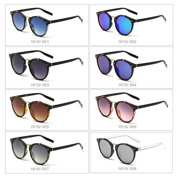2017 Top Quality Vintage Sunglasses Men Women Brand Design Travel Shades Mirror Points Sun Glasses Women Female Male Sunglass in Women 39 s Sunglasses from Apparel Accessories