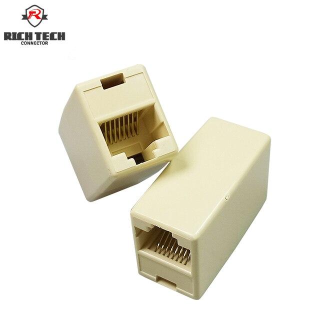 8pcs rj45 female to female network lan connector adapter coupler Audio Adapters Connectors 8pcs rj45 female to female network lan connector adapter coupler extender rj45 ethernet cable join extension converter coupler