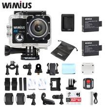 Wimius Q3 Action Camera 4K wifi HD 16MP Sport Mini Video Car Camcorder Go Waterproof 40M pro + 2.4G Wireless Remote Controller
