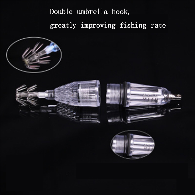 LED Underwater Fishing Light Squid lamp Lures Fish Finder Lamp octopus lamp cuttlefish lamp 5 colors in Fishing Lures from Sports Entertainment