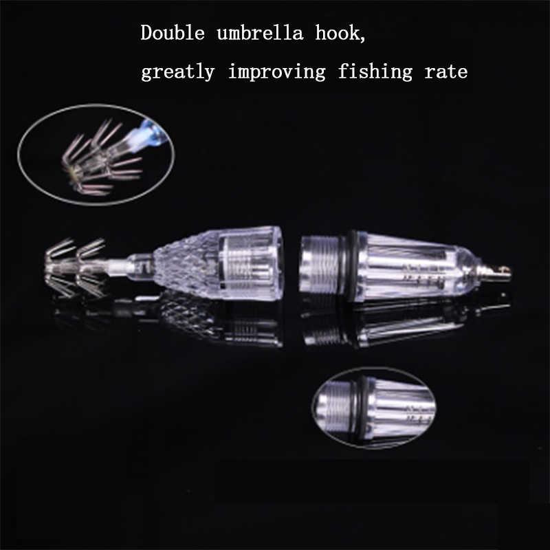 Tintenfisch-Lampe Yidiantong LED-Unterwasser-Angel-Licht Oktopus-Lampe Fisch-Finder 5 Farben Tintenfisch-Lampe