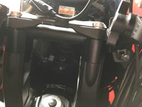 Bike GP Fits Kawasaki Modified Versys 650 2015 ON Handlebar Plus High Code Adapter Handle Aluminum