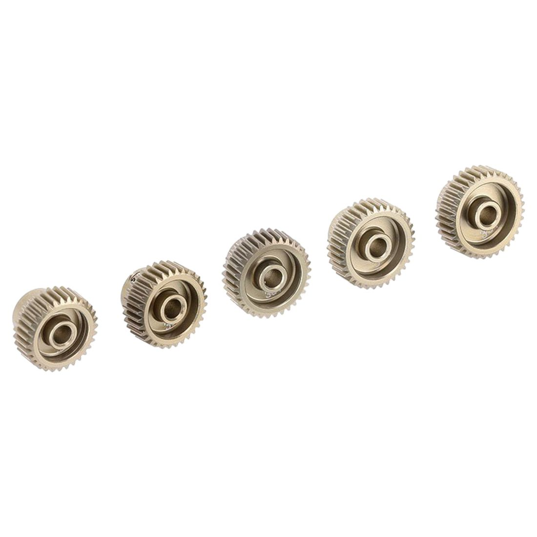 HOT SALE 5pcs 64DP 3.175mm 31T 32T 33T 34T 35T Pinion Motor Gear Set for 1/10 RC Car Brushed Brushless Motor