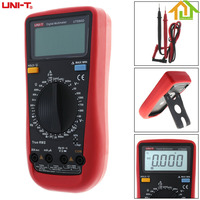 UT890D 5999 Counts LCD Display Backlight Portable Hand Hold High Precision Digital Multimeter With Support Overload