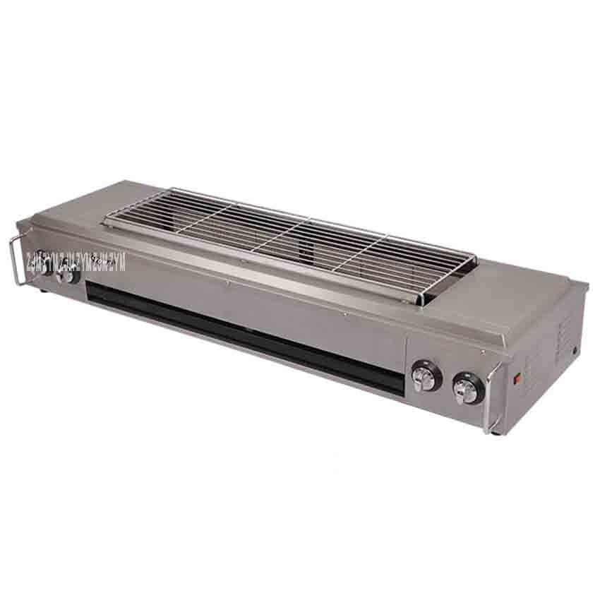 ET-KF03 glúten grill grill infravermelho ao ar livre sem fumaça churrasqueira a gás comercial shell Material de aço inoxidável 220 V/50Hz Griddles