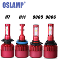 80W 9600lm H7 9005 9011 9022 9055 HB3 9006 HB4 H11 H8 H9 CREE SMD Chips LED Headlight Bulb 6500k 12V for Kia VW BMW Campy Jeep