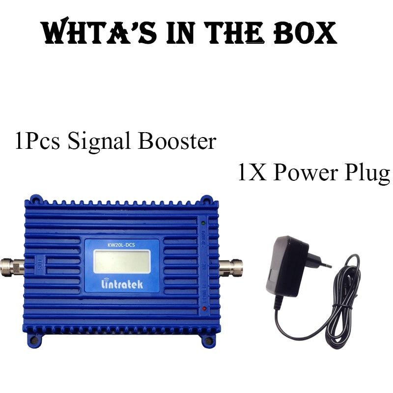 Lintratek LCD Display 4G LTE 1800 Mhz Band3 Penguat Sinyal Ponsel 2G - Aksesori dan suku cadang ponsel - Foto 6