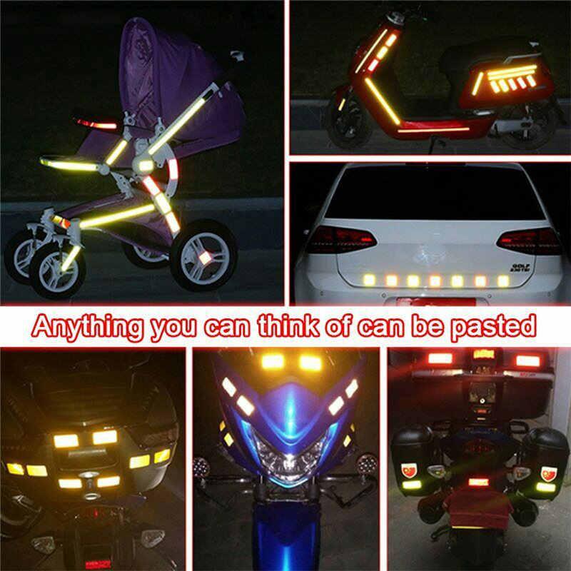 Aksesoris Sepeda Minimalis 360°visibility Sepeda Reflektor Sepeda Roda Berbicara Lampu Reflektif Sepeda Roda Berbicara Lampu 7