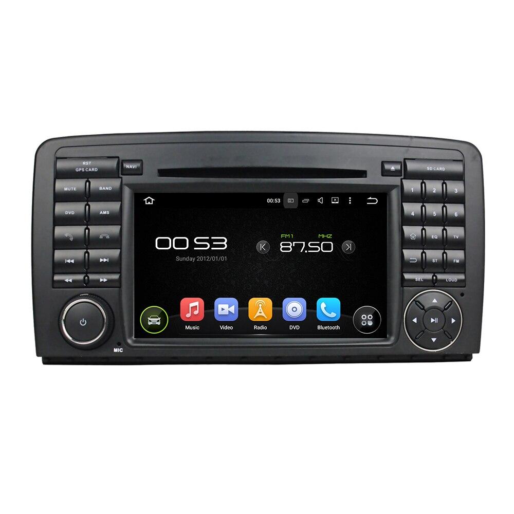 Lecteur DVD de voiture de Navirider octa core Android 8.0.0 HD pour Benz W251/W80/W300/W320/W350 audio gps radio stéréo multimédia 3G wifi
