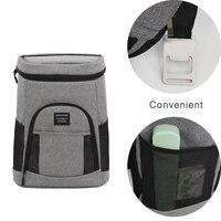 DENUONISS Brand Insulated Cooler Backpack Lightweight Backpack Cooler Leak proof Soft Large Camping Cooler Bag for Wine & Beer