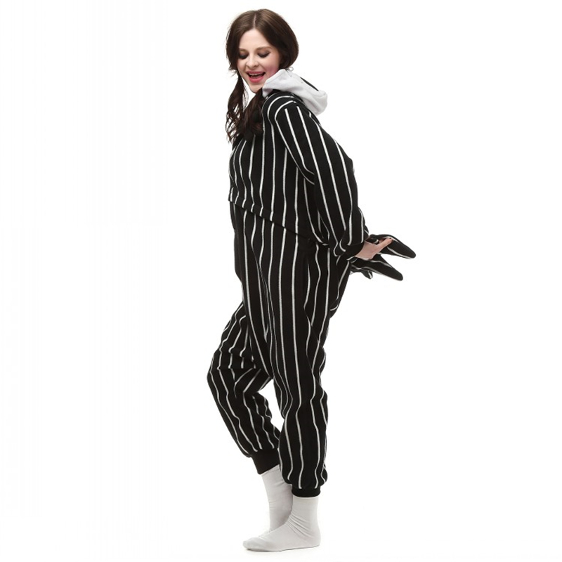 Cosplay Cartoon Anime The Night Before Christmas Jack Skellington Skeleton Costume Onesie Party Christmas Pajamas Plus Size S XL-in Anime Costumes from ...  sc 1 st  AliExpress.com & Cosplay Cartoon Anime The Night Before Christmas Jack Skellington ...