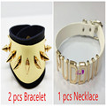 Cosplay Suicide Squad Joker Harley Quinn Inspired Neck Collar Bracelet Puddin necklace  Daddy's Lil Monster Cosplay costume