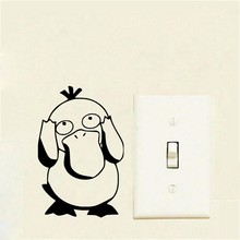 New 3D Wall Sticker Decoration Switch Interesting Pokemon Childrens Room Wallpaper on the of Home