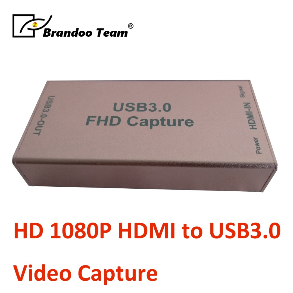 1080P Free Driver HDMI Video Capture Card Grabber Compatible USB3 0 USB2 0 Capture Device For