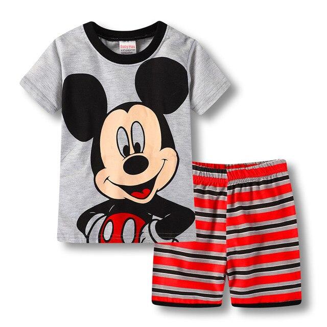 Bambini ragazze e ragazzi pigiami estivi per bambini personaggio