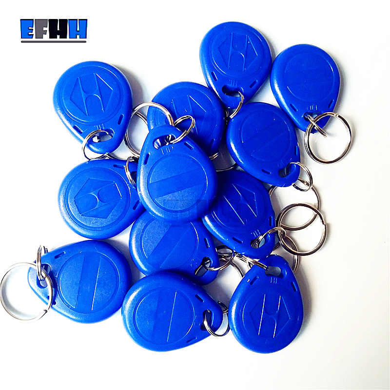 125Khz EM4305/EM4205 Rewritable RFID Keyfobs Key Tags Copy Clone Blank Card In Access Control Card ...