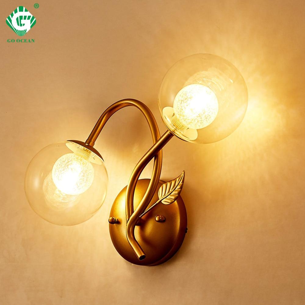 Us 40 94 22 Off European Style Wall Lamps Bedroom G9 E27 Bulb 110v 220v Room Loft Hotel Sconce Hallway Home Interior Light Swing Arm Br In