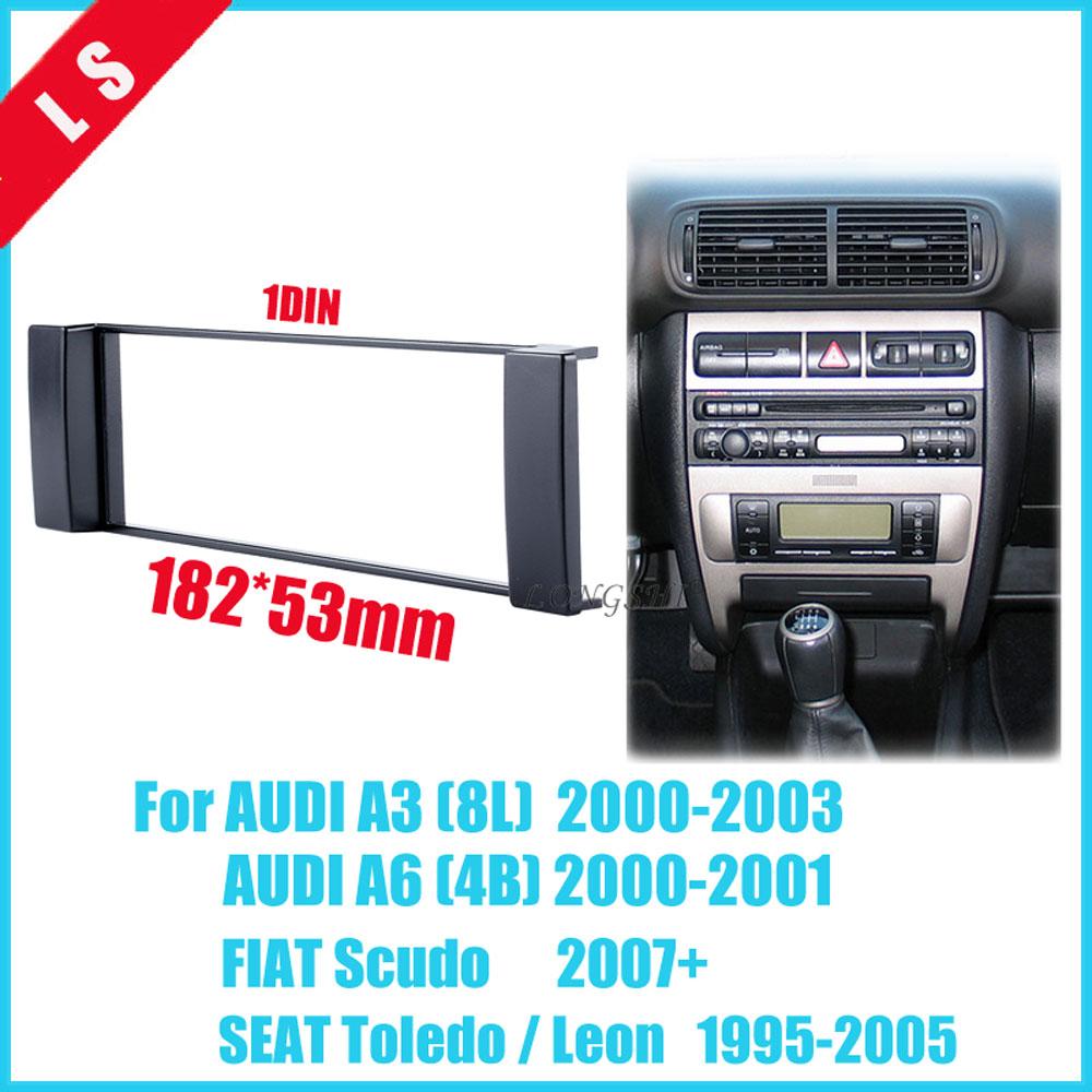 A3//S3 8P Single Din Fascia Facia Panel //Adapter //Plate