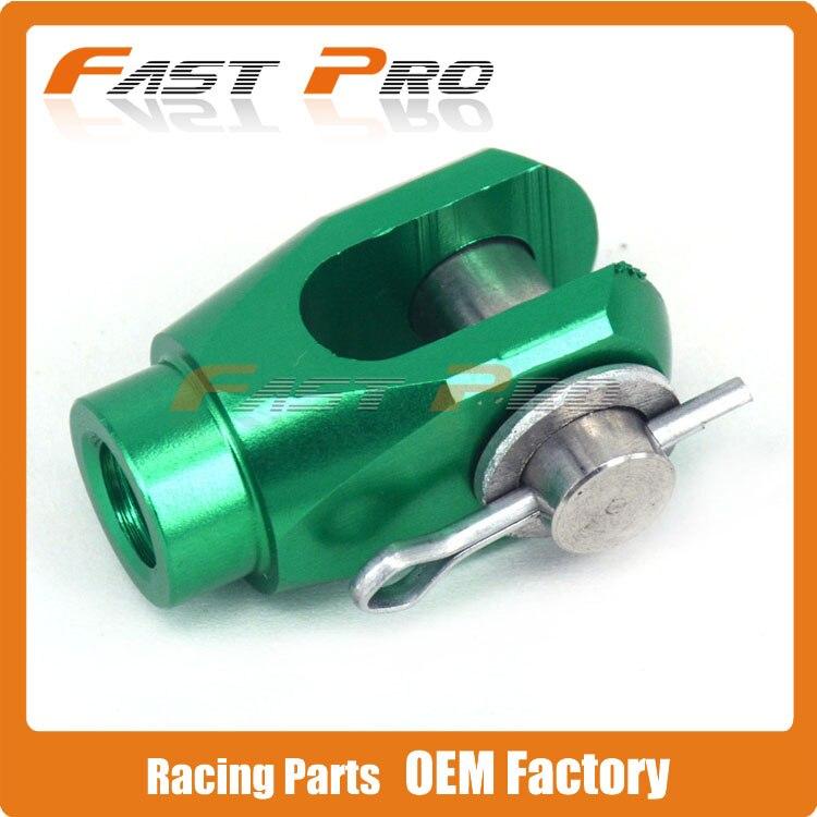 CNC REAR BRAKE CLEVIS FOR KX65 03-16 KX125 02 KX250 05-08 KX250F 04-16 KX450F 06-16 KLX450R 08-15 KFX450R(ATV) 08-10 RMZ250