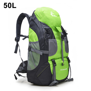 Image 5 - Mochila De Montañismo al aire libre de 50L/60L, bolsa de escalada para acampar, senderismo, viaje, bolsa de deporte, Molle, escalada