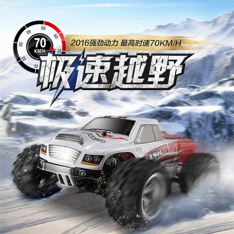 WL Wltoys A979B 1:18 Proportional 70KM/H high-speed toy car 2.4G remote control four-wheel drive off-road vehicle drift toys car grille