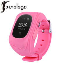 Funelego Q50 Smart Watch For Kids GPS Tracker Children Wearable OLED LCD Electronic Anti-Lost with SIM Card Cell Phone Watches