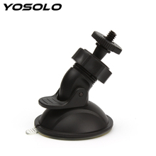YOSOLO Mini Car Suction Cup Mount Tripod Holder Phone DV GPS Camera DVR Stand Holder Car Accessories